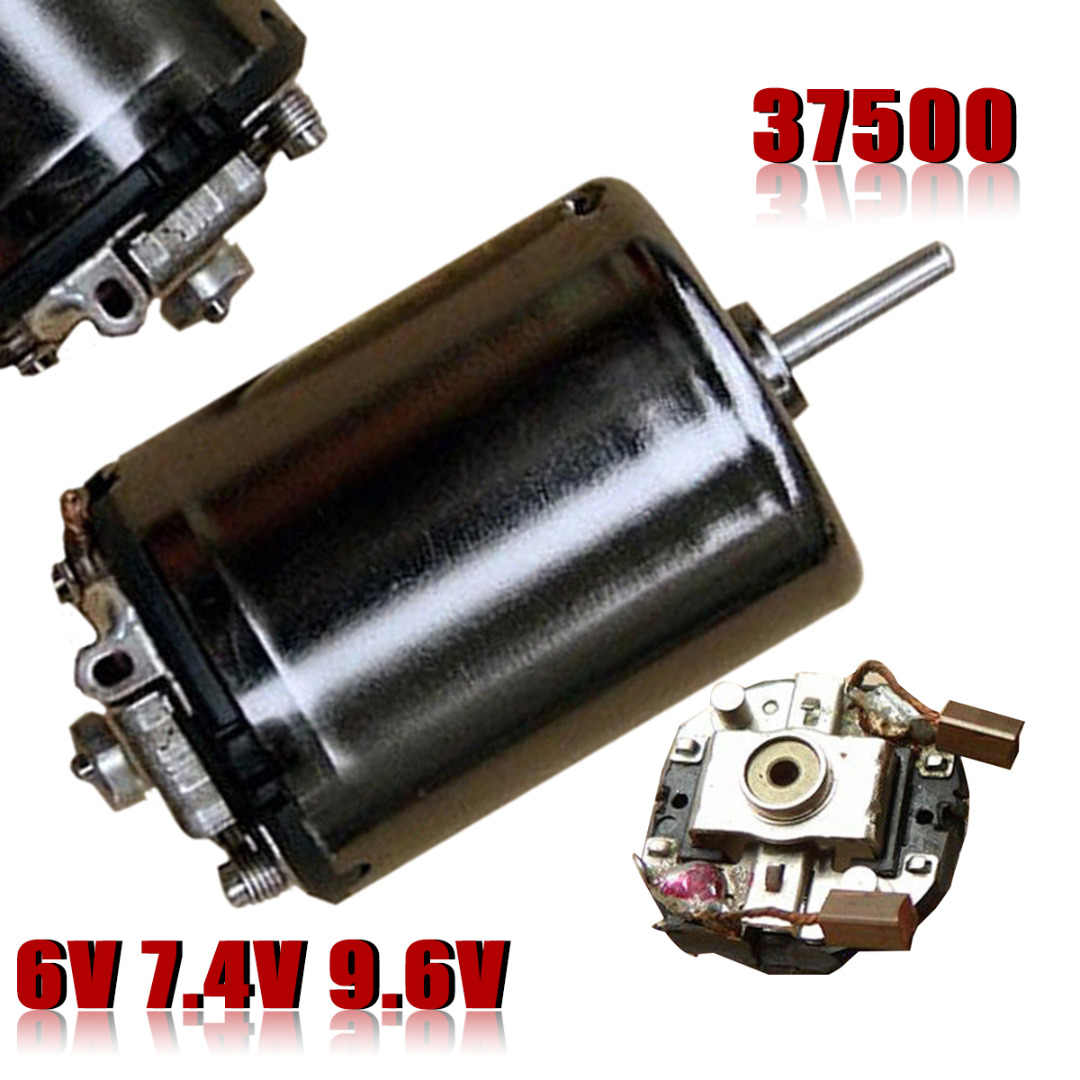 High Quality DC 6V 7.4V 9.6V 37500RPM High Speed Large Torque 370 Motor DIY RC Car Boat For Motor Parts Accessories