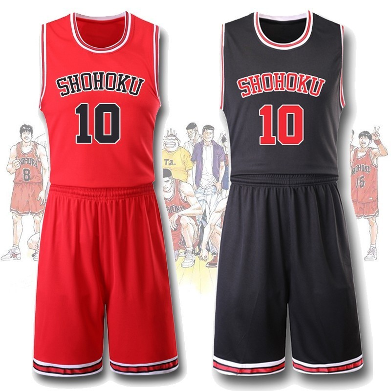 Anime SLAM DUNK Basketball Uniforms Hanamichi Sakuragi School Team Sports Wear Rukawa Kaede Cosplay Costume Sport Suit