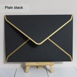 Image 5 - 25 pcs 194x134mm (7.5x5.2 inch) 두꺼운 청첩장 봉투를 스탬프 골드 진주 색 봉투