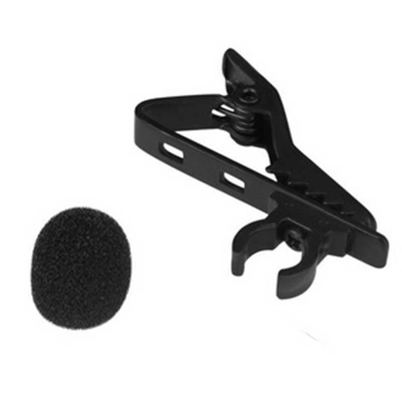 LEORY Mini 3.5 مللي متر جاك كليب على التلبيب ميكروفون Lavalier الميكروفونات السلكية هيئة التصنيع العسكري للتحدث الكلام المكثف ميكروفون