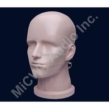 Beige Omnidirektionale Wireless Headset Kopf getragen Mikrofon Mikrofone für AKG Samson Gemini 3 Pin XLR mini Radio Mikrofone System