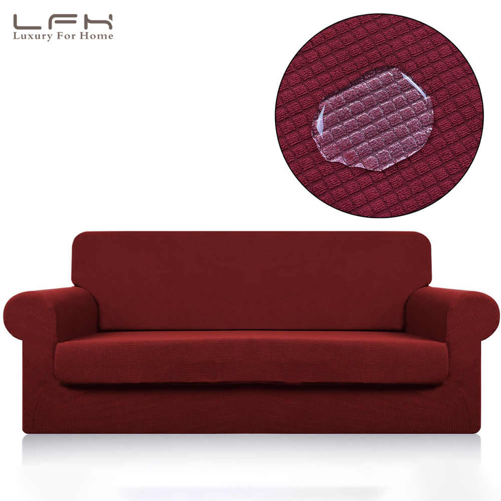 Astonishing Lfh Waterproof Sofa Cover Furniture Protector With Elastic Theyellowbook Wood Chair Design Ideas Theyellowbookinfo