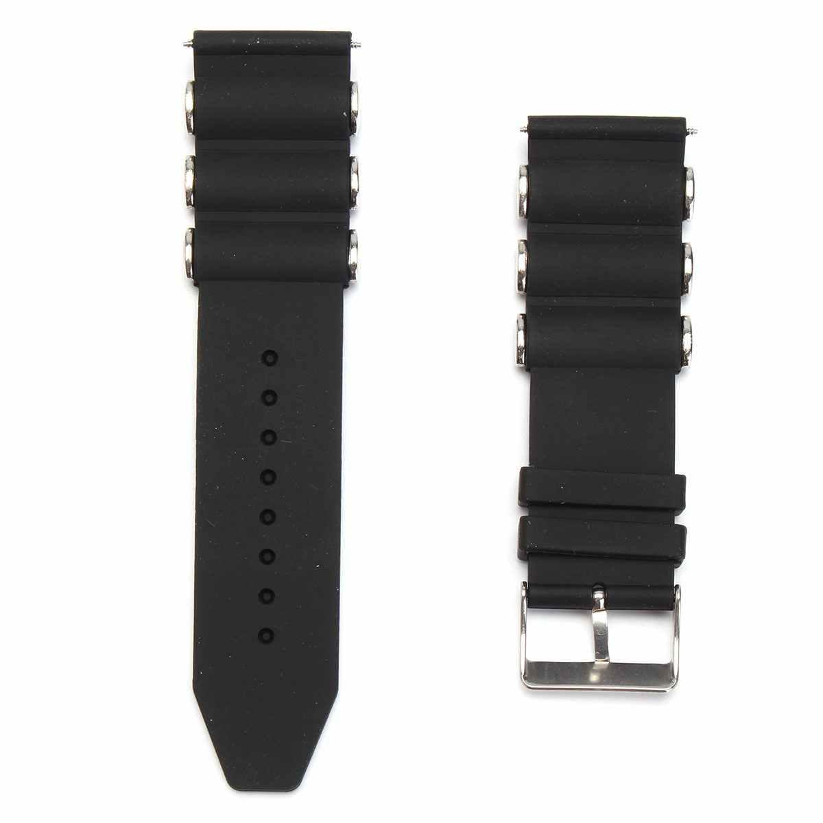 20/22/24/26mm סיליקון גומי Diver רצועת השעון רצועת עבור Invicta-טיול 18202 שחור גברים של צמיד שעון צמיד החלפה