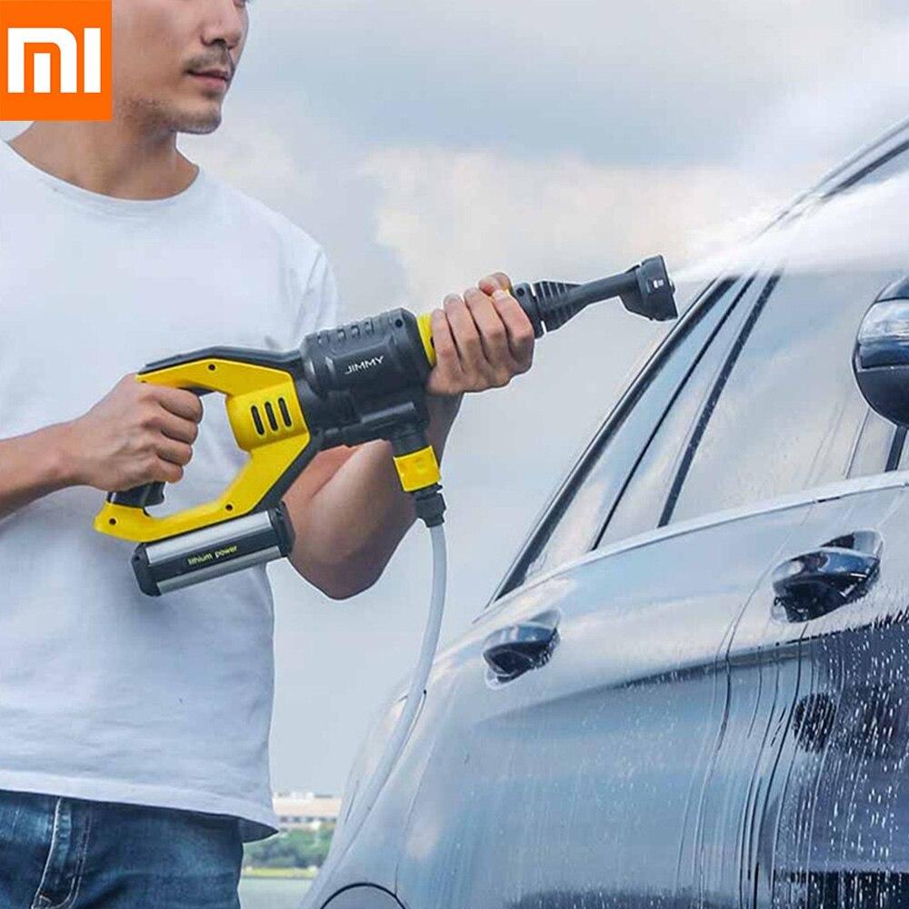 Xiaomi JW31 Tenuto In Mano Senza Fili Pistola di Lavaggio Auto Moto Senza Fili Giardino Rondella 5 Modalità di Regolazione Tubo 6 m da Xiaomi Youpin