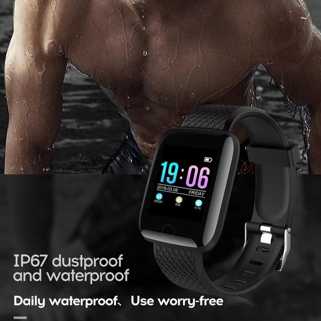 Smart Watch Men Blood Pressure Waterproof Smartwatch Women Heart Rate Monitor Fitness Tracker Watch Sport For Android IOS 3