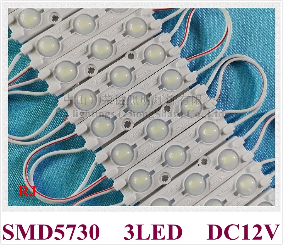 led module 2018 new style with lens injection LED light module for sign DC12V SMD 5730