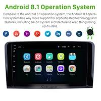 Seicane Android 8,1 для 2005 2012 Mercedes Benz ML Class W164 ML350 ML430 ML450 ML500 Прокат Авто Радио Стерео gps навигации