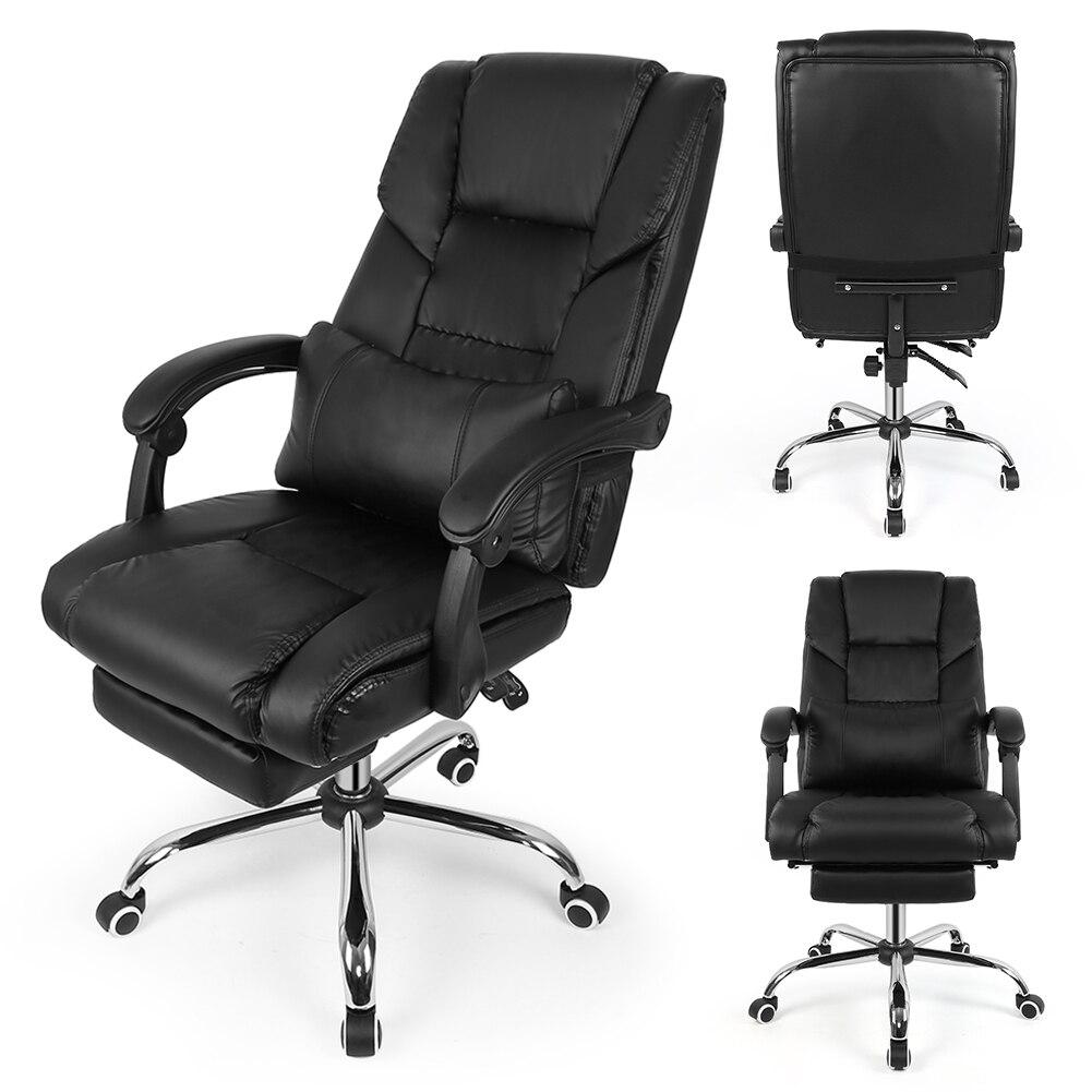 € 89.92 29% de DESCUENTO|Silla de elevación negra silla giratoria de  oficina Silla de escritorio de ordenador para el hogar silla de oficina  jefe con ...