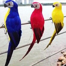 Creative Artificial Parrots Imitation Bird Model Home Bonsai Outdoor Decor Garden Wedding Ornament Birds DIY Party Use BF