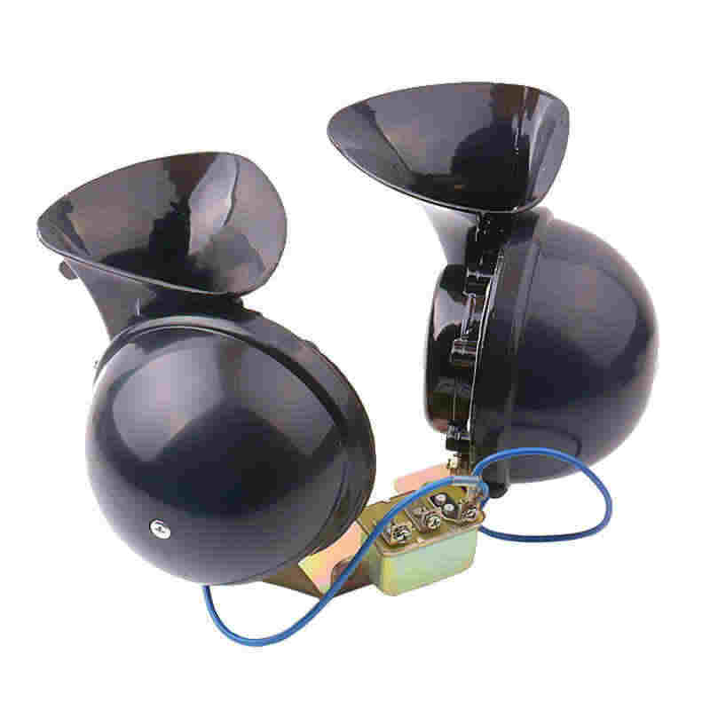 OHANEE super loud car horn 12V 24V klaxon parts for truck bus loudnes 140db waterproof dustproof  auto accessories