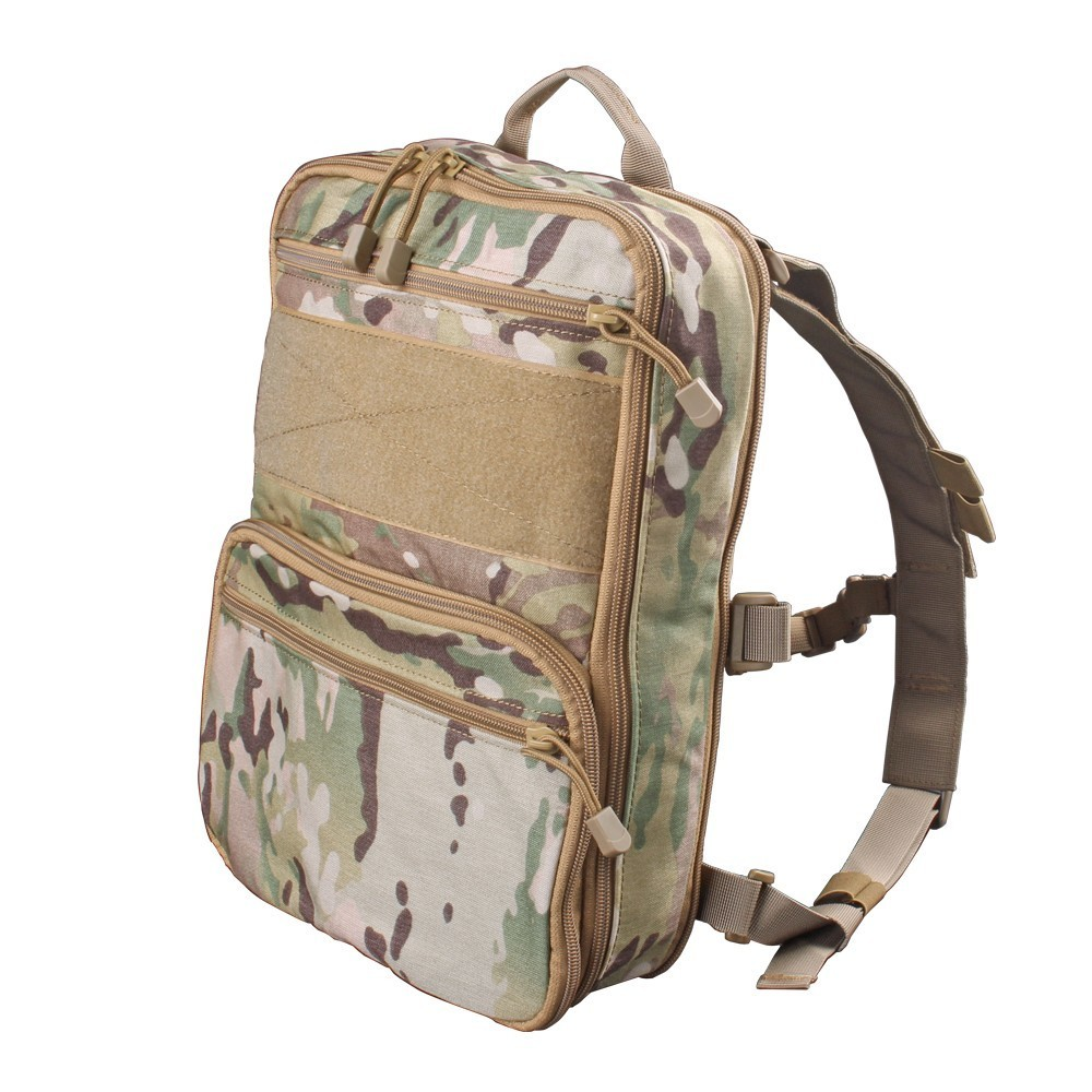 Flatpack D3 Tactical Backpack Hydration Carrier Molle Pouch Airsoft Military Gear Multipurpose Vest Assault Softback Travel Bag