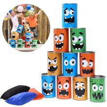 10 шт карнавальные бобы мешок можно бросать игровой набор цирк Вечерние игры для BBQs/Дети День рождения