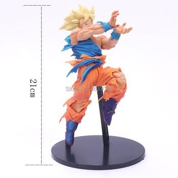 Figure Super Saiyan Son BWFC WORLD FIGURE PVC Action Figure Collectible Model Toys 20cm цена 2017