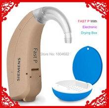 SIEMENS Audífono rápido de 4 canales para ancianos, amplificador de sonido para pérdida de audición, herramientas de cuidado del oído ajustables, 2020