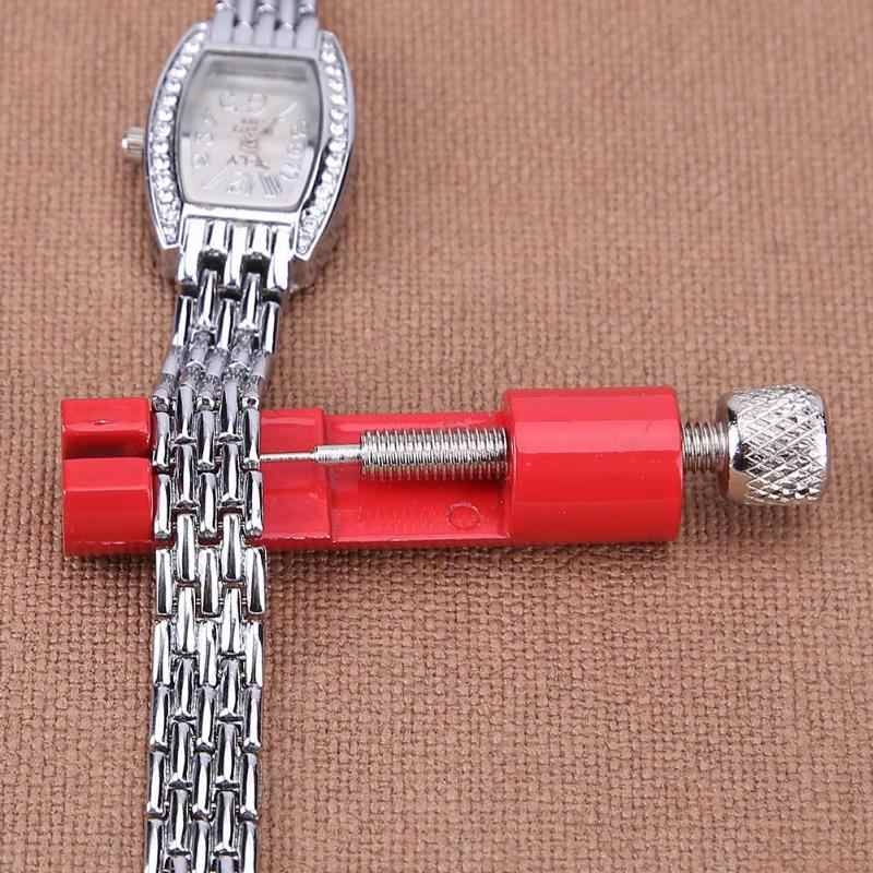 Adjustable Watch Band Remover Kit Metal Strap Bracelet Link Pin Repair Tool with Extra Pins