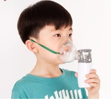 Resolve Phlegm and Relieve Cough Ultrasonic Nebulizer Kids Portable Inhaler Nebulizer Children Asthma Medical Equipment W2015SPE