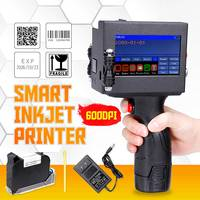 Newest LED Screen Touch Screen Handheld Printer 600DPI Intelligent USB QR Code Inkjet Label Printer High Quality Coding Machine