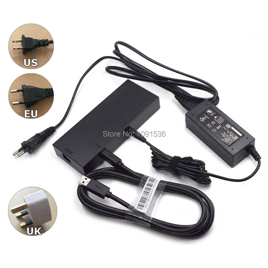 NEW Version Kinect 2.0 Sensor AC Adapter Power Supply for Xbox one S  X  Windows PC , XBOXONE SlimX Kinect Adaptor