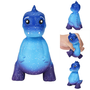 1pc Blue Squishy Kawaii Cartoo