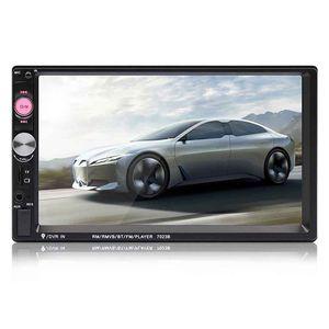 Image 2 - Top 7023B 2 Din Car Multimedia Audio Speler Stereo Radio 7 Inch Touch Screen Hd MP5 MP4 Speler Ondersteuning Bluetooth camera Fm