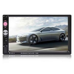 Image 2 - Top 7023B 2 din Car Multimedia Audio Player Stereo Radio 7 inch Touch Screen HD MP5 MP4 Player Support Bluetooth Camera FM