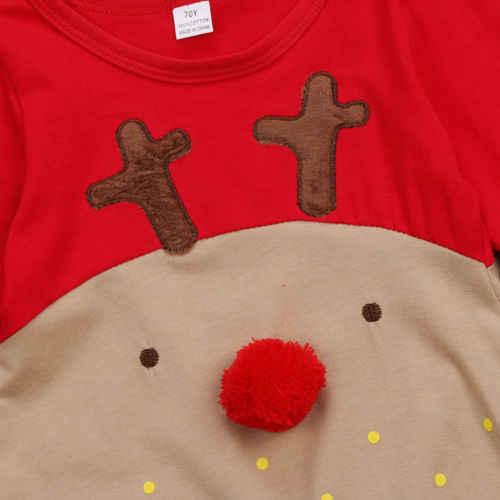2 uds., bebés recién nacidos, niñas, mamelucos de Navidad, manga larga, ciervos, mameluco, sombrero, ropa de dormir, disfraz de fiesta, ropa de bebé