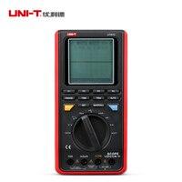 UNI T UT81C ручной объем цифровой мультиметр-осциллограф 4000 Граф DMM 6 МГц 80 мс/с Вольт Ампер Ом установка для измерения параметров конденсаторов ...