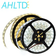 Top Quality! 5M DC 12V 600Led 120led/m waterproof SMD 5050 RGB Warm White led strip Double Row Flexible ribbon tape light цена и фото