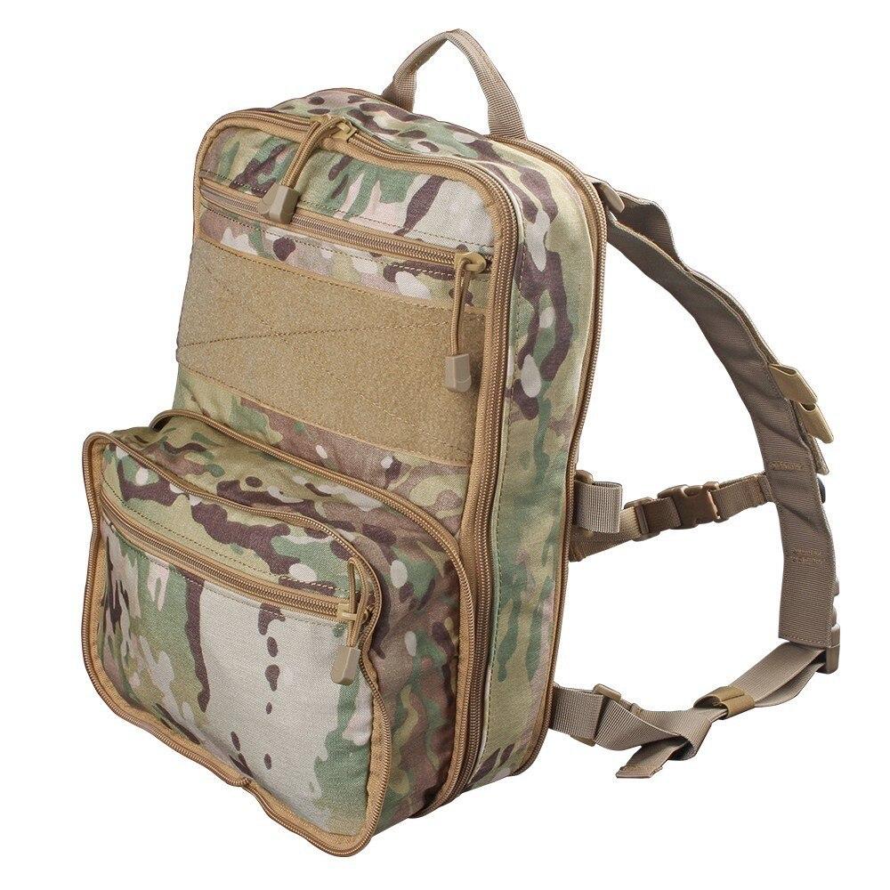 Flatpack D3 sac à dos tactique sac d'hydratation poche Molle Airsoft équipement militaire gilet polyvalent assaut sac de voyage souple - 2