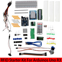 Hot Sale with Retail Box RFID Starter Kit for Arduino UNO R3 Upgraded version Learning Suite Wholesale Free Shipping 1 set