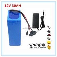 12 В 30ah батареи 12 В 30ah литиевая батарея с 12,6 В 3A Зарядное устройство для уличного освещения/камеры видеонаблюдения 30A BMS Бесплатная доставка