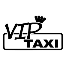 Car styling VIP Taxi Stickers  The Dapper Sticker Cute And Interesting Fashion Decals