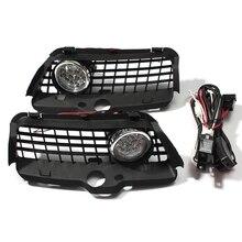 Для V w Mk3 Golf Je tta 1992-1998 Решетка переднего бампера 6000K белый светодиод Drl для вождения противотуманный светильник автомобильные аксессуары