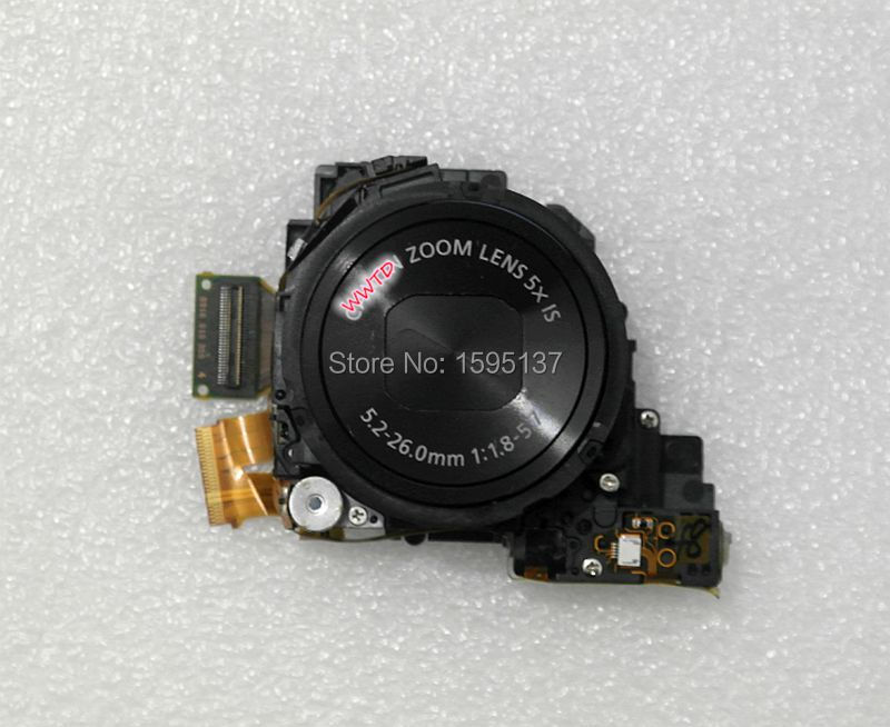 Black Original zoom lens CCD Repair Part For Canon S120 S120 V S120V PC2003 Digital camera