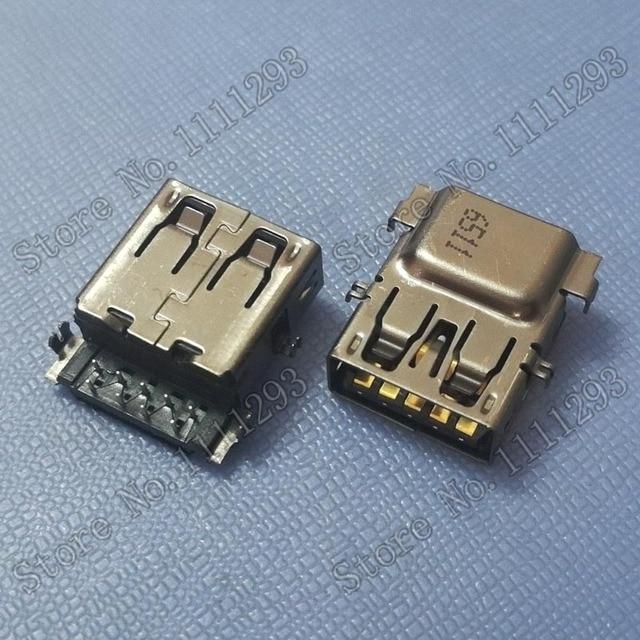 10 قطعة/الوحدة 3.0 USB جاك المقبس موصل ل HP جناح 15 ac 15 ay 15 bd 15 ac637tx ثينك باد L440 L540 X1 اليوغا 260 USB3.0 ميناء