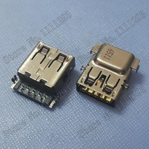 Image 1 - 10ชิ้น/ล็อต3.0 USBแจ็คซ็อกเก็ตสำหรับHP Pavilion 15 ac 15 Ay 15 bd 15 ac637tx Thinkpad L440 L540 X1โยคะ260 USB3.0พอร์ต