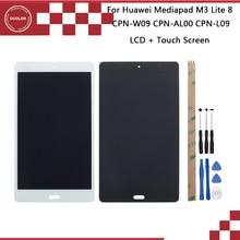 Ocolor עבור Huawei Mediapad M3 לייט CPN W09 CPN AL00 CPN L09 LCD תצוגה + מגע מסך 8 עבור Huawei Mediapad M3 לייט + כלים + קלטת