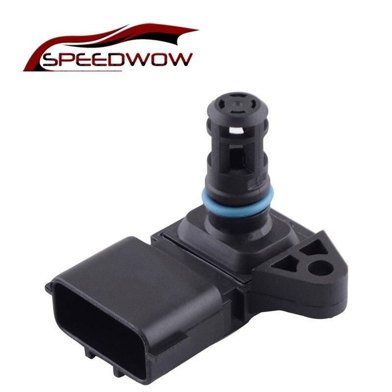 Capteur de carte SPEEDWOW 4Bar capteur de pression de suralimentation d'air absolu pour Renault Peugeot KIA Hyundai Citroen 5WK96841 2045431