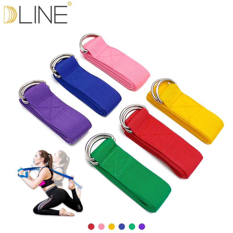 Adjustable Sport Stretch Strap D-ring Belts Gym Waist Leg Fitness Yoga Belt Nourishing The Kidneys Relieving Rheumatism