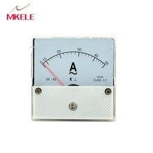 New Arrivals AC 44L1 Ammeter Current Ampere Voltage Meter Voltmet Voltmeter Pointer Diagnostic-tool Tester Ampermeter China