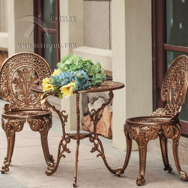 גן שולחן כיסאות סט