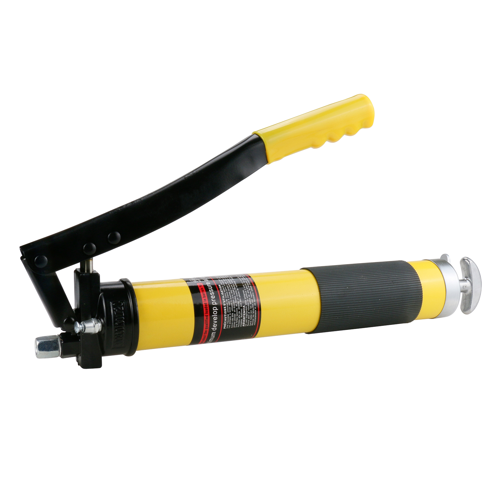 Hand-operated Grease Gun Heavy Duty Double Pump Pressure for Maximum 12000 PSI 12 PU Flex hose for Auto Repair ToolsHand-operated Grease Gun Heavy Duty Double Pump Pressure for Maximum 12000 PSI 12 PU Flex hose for Auto Repair Tools