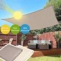 300D Водонепроницаемый полиэстеровый прямоугольный навес  Солнцезащитная сетка  солнцезащитный козырек  уличное солнцезащитное укрытие цве...