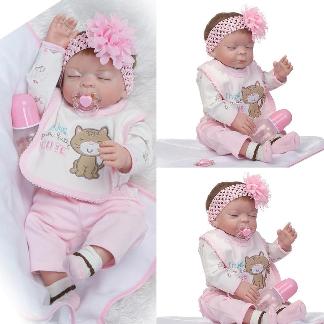 Reborn WispyThick Eyelashes Black For Reborn Toddler Baby Dolls /<3!!.