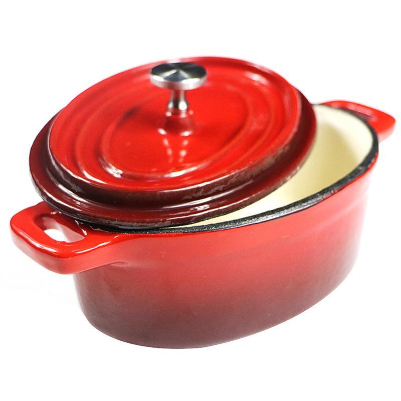 1 pièces marmite à soupe en acier inoxydable Double marmite Non magnétique marmite multi-usages casserole antiadhésive