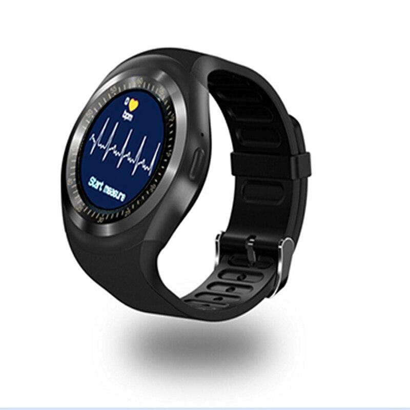 Smart Watches Flight Tracker Y1x Smart Uhr Runde Telefon Nachricht Tipps Smart Uhr Sitzen Tipps Remote Kamera Motion Monitor Smart Ring