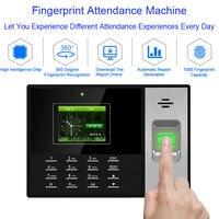 OULET Biometric Time Attendance System USB Fingerprint Reader Time Clock Recorder Employees Device Fingerprint Time Attendance