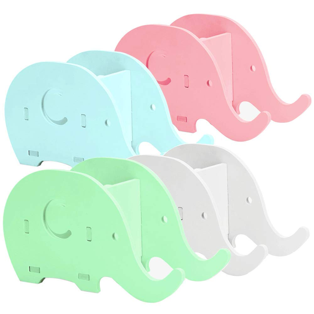 Office & School Supplies Creative Wooden Elephant Pencil Holder Cute Kawaii Whale Pen Stands Mobile Phone Holder Desk Organizer Office School Supplies Vivid And Great In Style Pen Holders