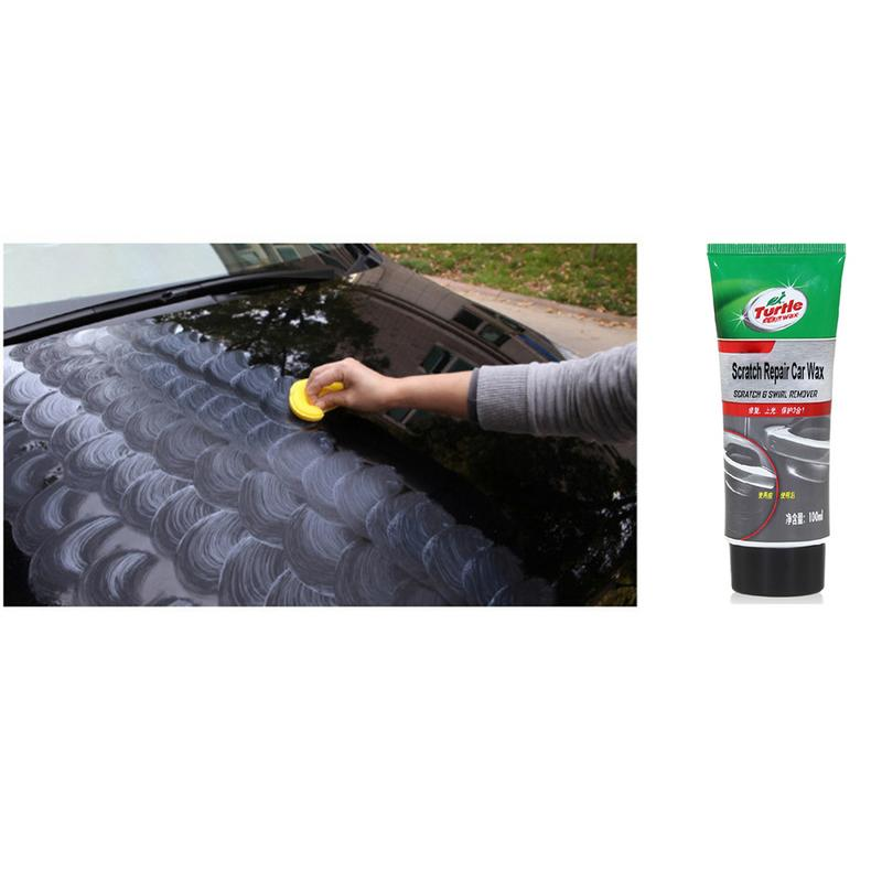 Image 4 - 100ml New Car Maintenance Wax Turtle G 239R Car Scratch Repair Depth Repair Color Magic Car Paint Polishing Care Easy to Use-in Polishes from Automobiles & Motorcycles