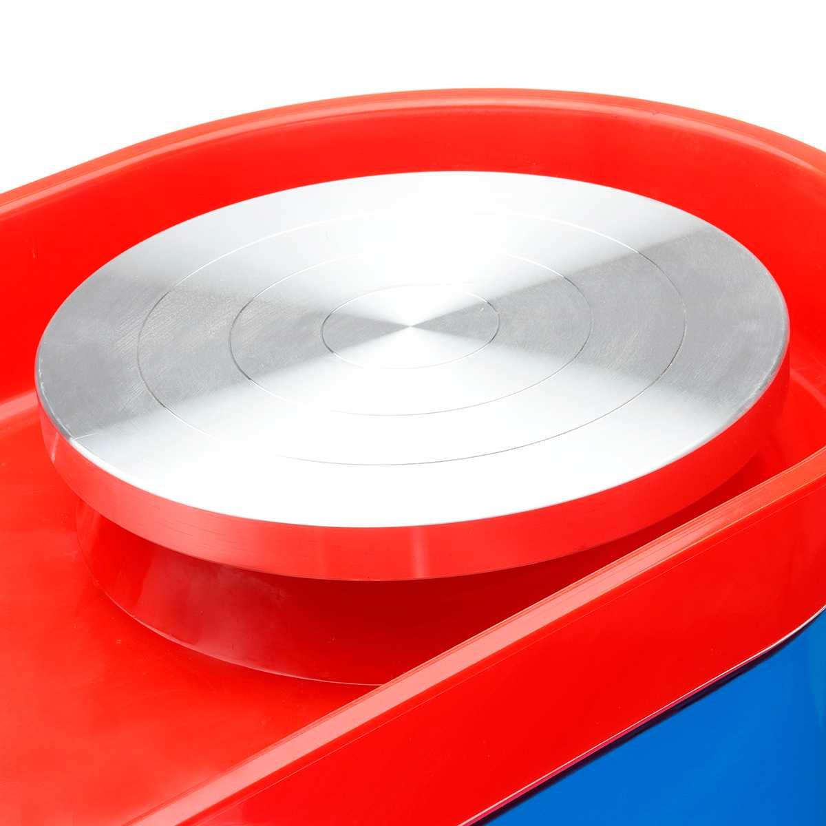 US Plug 350 W 110/220 V poterie électrique roue en céramique Machine poterie formant la Machine argile pour travaux pratiques outil céramique travail céramique argile - 4